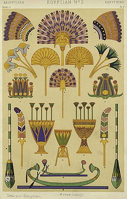 The lotus and water lily iconography symbolism and botanical confusion egyptian water lily motifs on fans and oars mightylinksfo