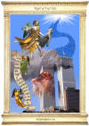 Angel of Fear Not - 9 11 memorial poster