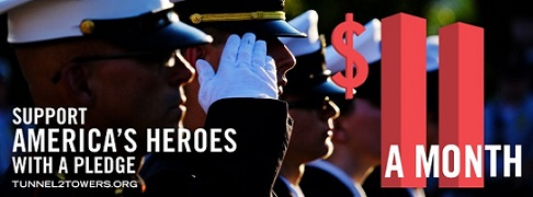 The most affordable way to honor the sacrifice by our country's military and civilian heroes and help support their families